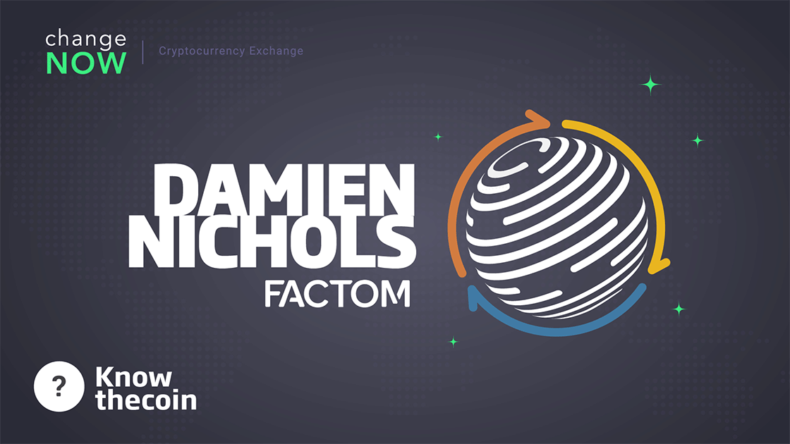 Know The Coin: Factom's Damien Nichols