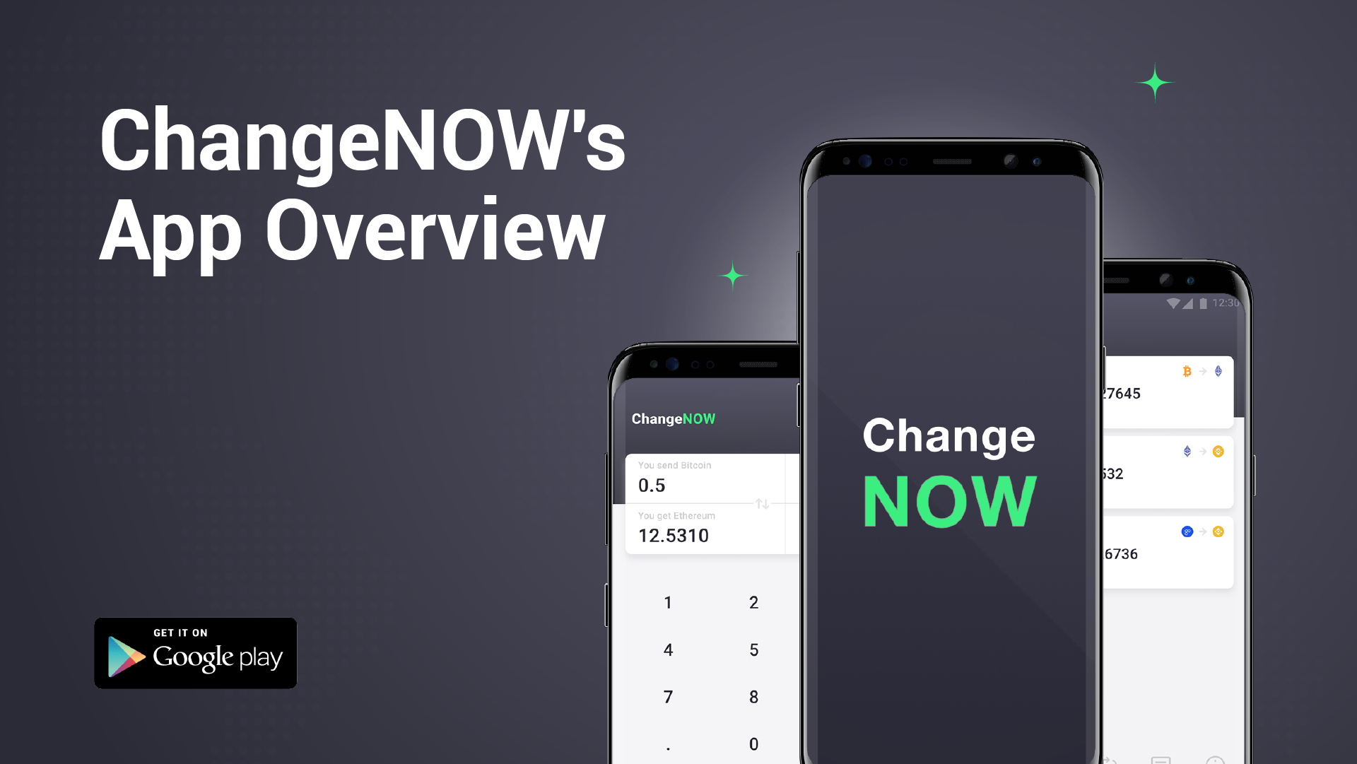 ChangeNOW.io's Android App Overview - Non-Custodial and Limitless Crypto Exchange On The Go
