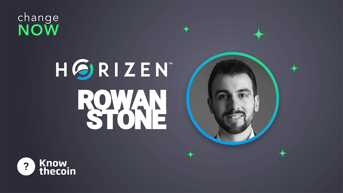Know The Coin: Interview with Horizen Business Development Director Rowan Stone