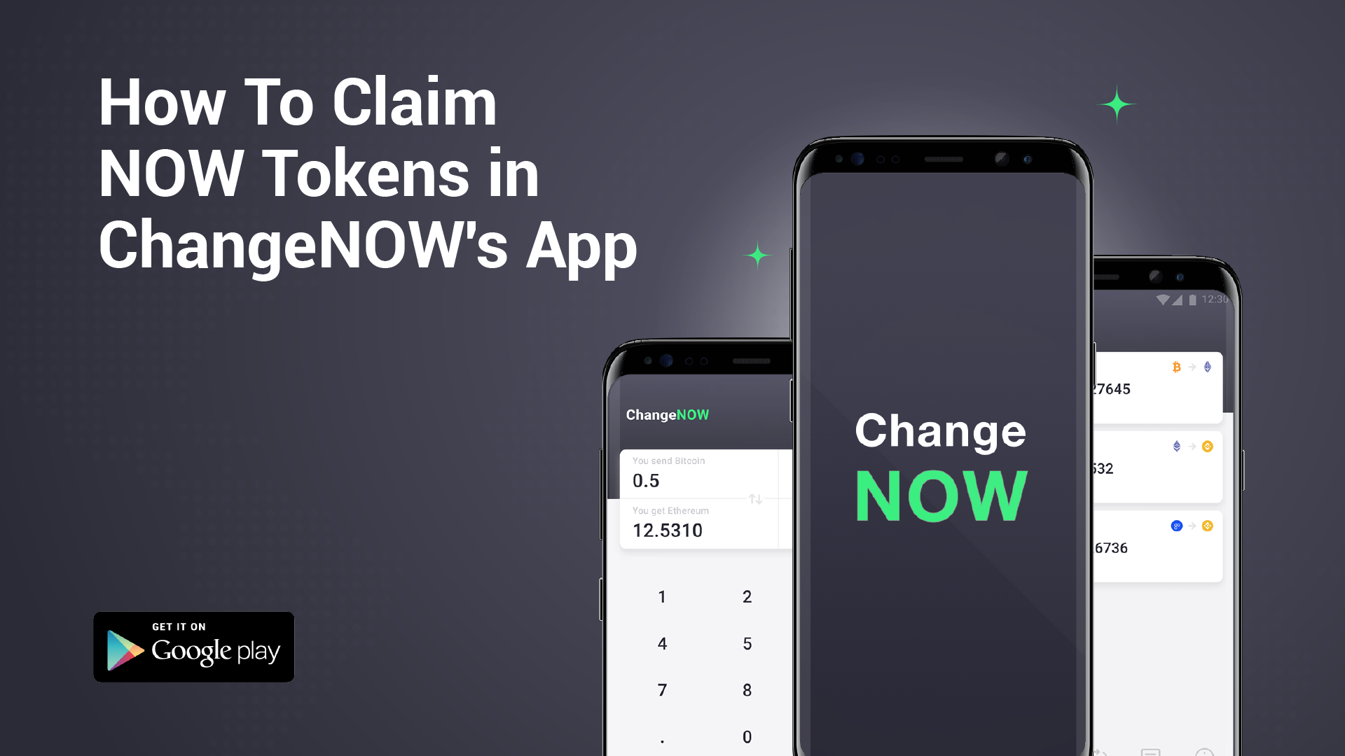 How to claim NOW tokens for free in ChangeNOW's brand new Android app [GUIDE]