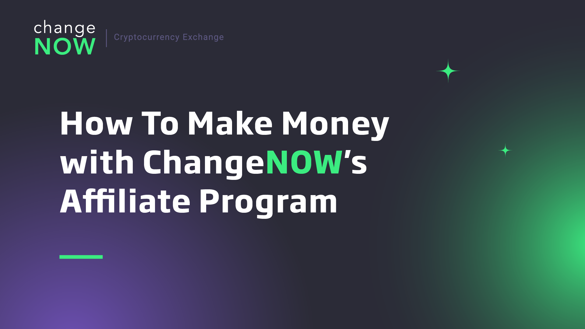 How To Make Money with ChangeNOW's Affiliate Program [GUIDE]