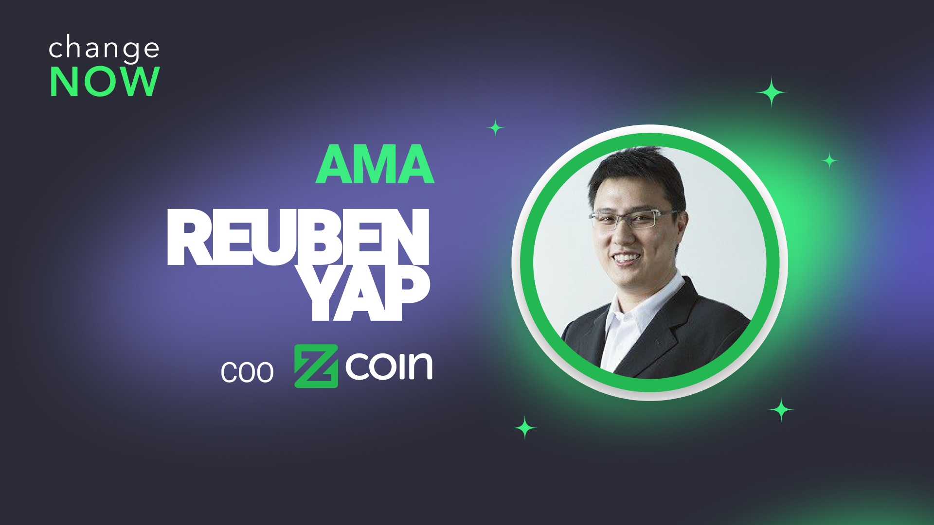 ChangeNOW Community Chat AMA with Reuben Yap, COO of Zcoin