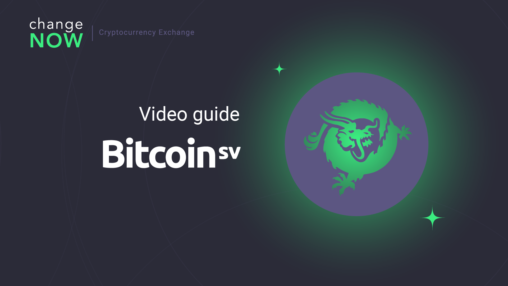 How To Exchange BSV on ChangeNOW io — Registration Free Crypto Exchange GUIDE