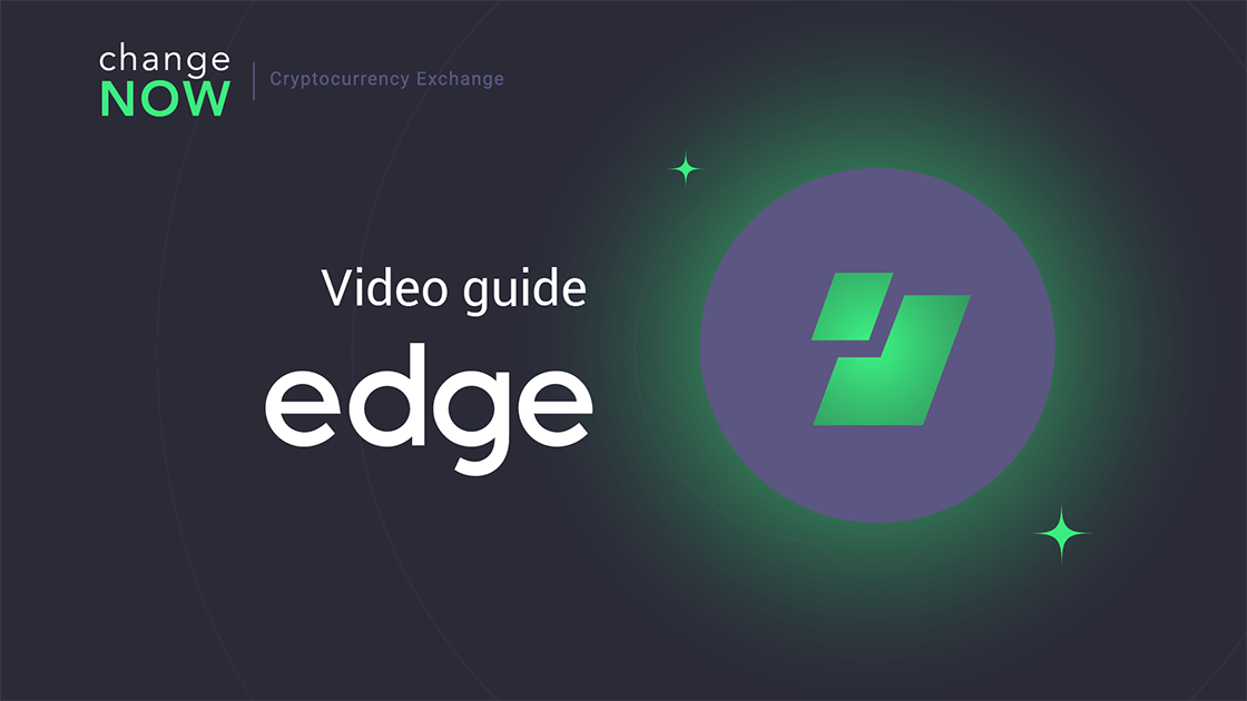 How To Perform A ChangeNOW Exchange In EDGE Wallet [GUIDE] edge wallet social