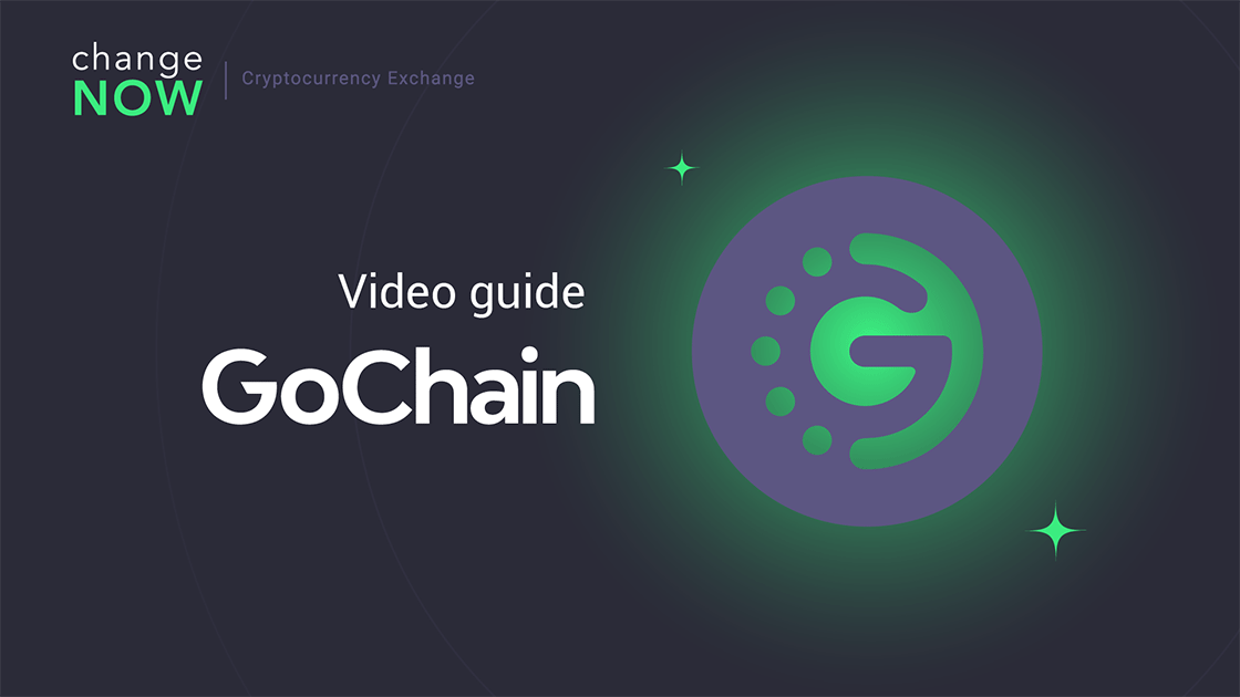 How To Buy GOChain on ChangeNOW.io - Quick and Easy Swaps with More than 200 Cryptos [GUIDE]
