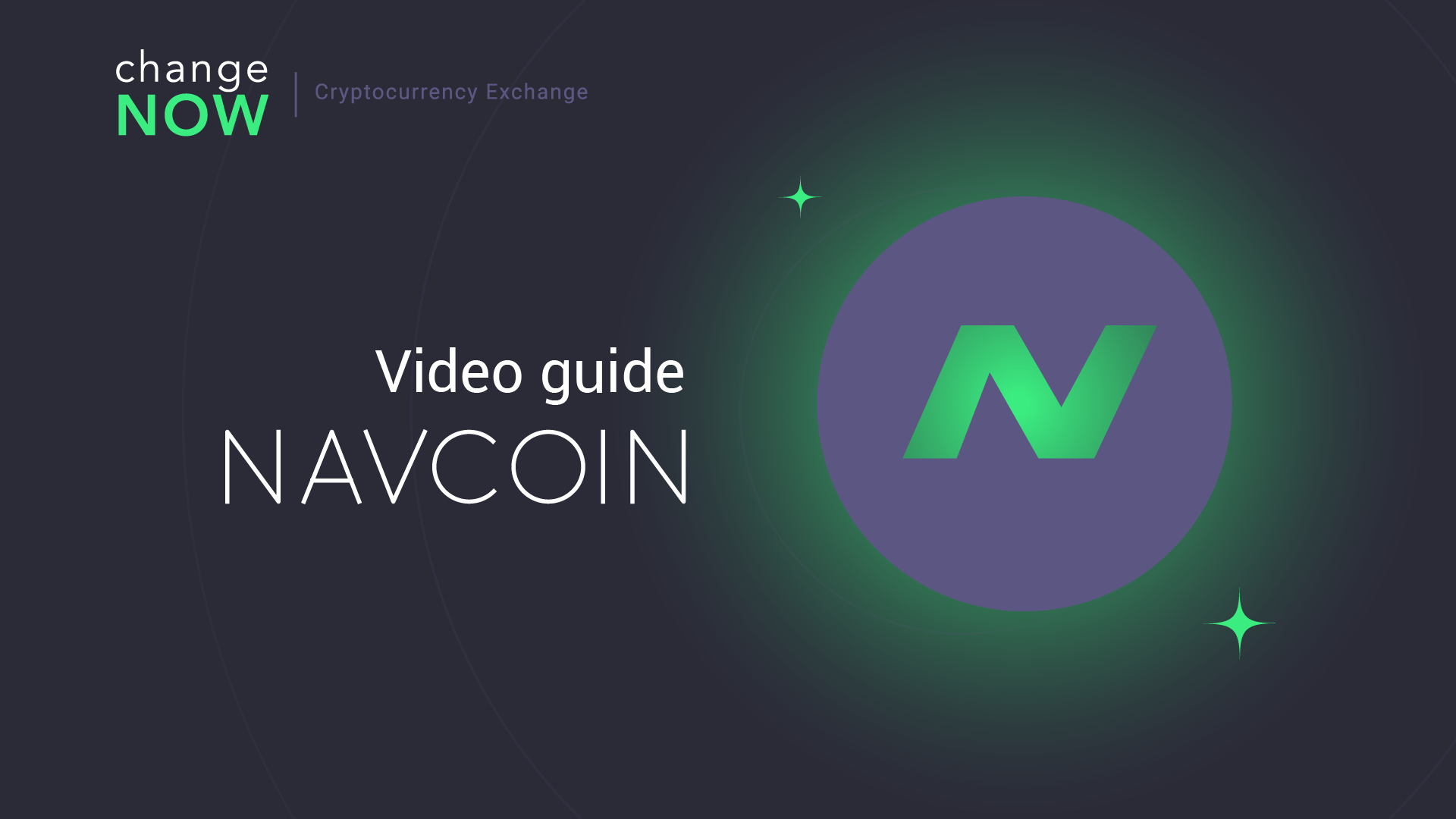 How To Exchange NavCoin on ChangeNOW io — Registration Free Crypto Exchange [GUIDE]