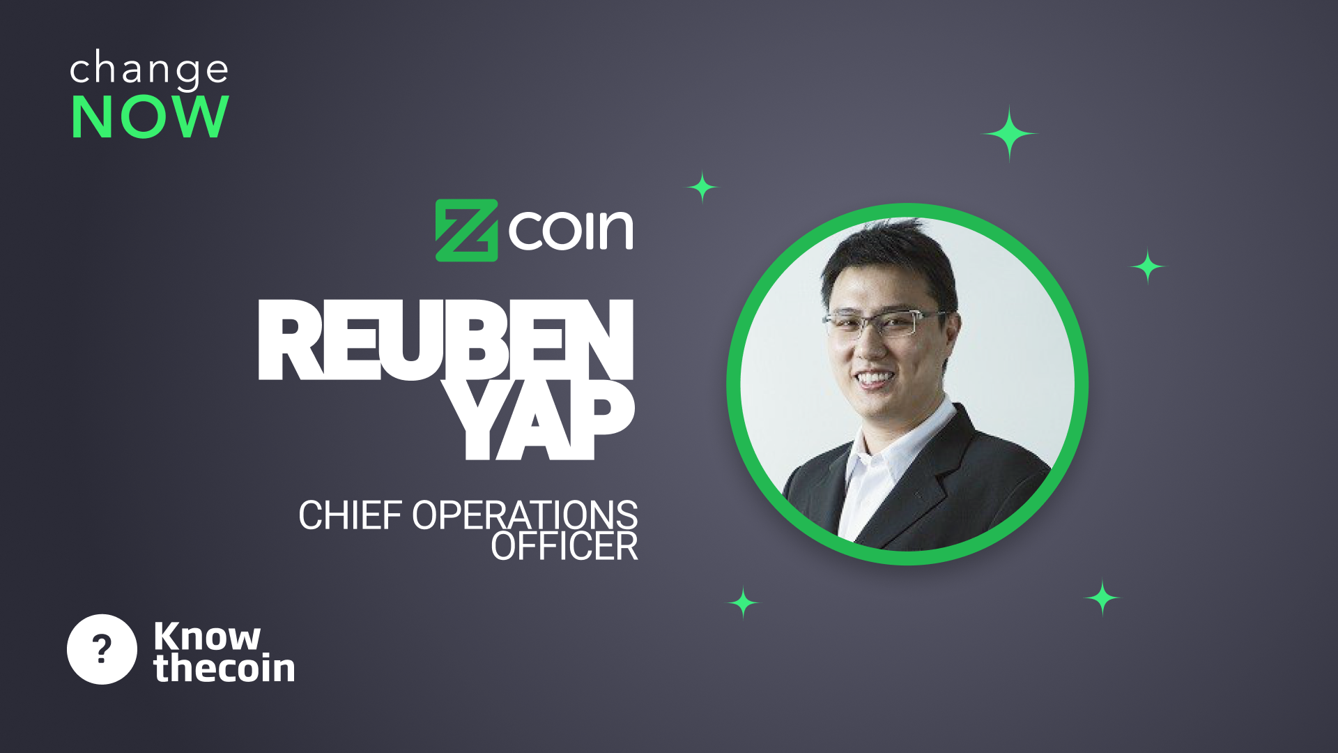 Know The Coin: Zcoin's Reuben Yap