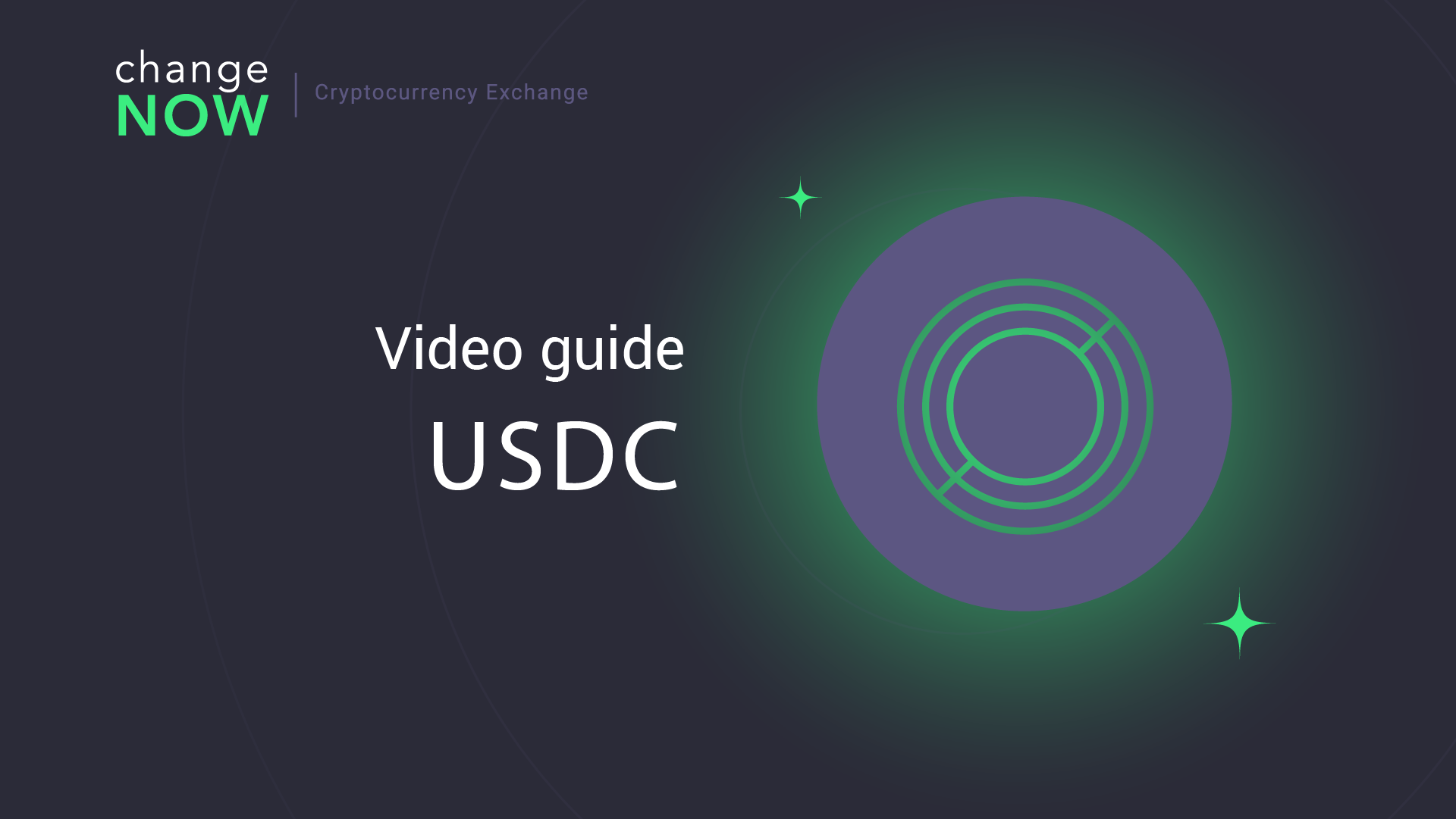 How To Exchange USDCoin on ChangeNOW io — Registration Free Crypto Exchange GUIDE